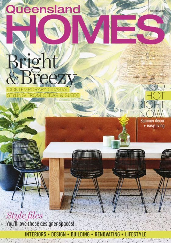 queensland homes magazine cover summer 2016