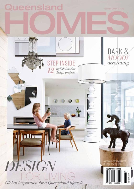 queensland homes magazine cover winter 2014